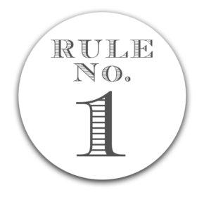 – Elmore's Rule No. 1